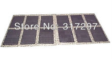 GGX ENERGY 120Watt Foldable Cloth Solar Panels Solar Powered Charger for Laptop/Computer/12V RV/Caravan/Car/Boat Battery