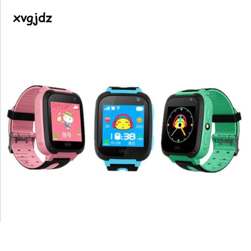 xvgjdz LBS Smart Watch 1.44 Touch Screen Children Phone Smartwatch SOS Location Tracker Device Camera For Kids Baby Boy Girl