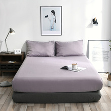 Future Life fitted sheet solid General Independent Bed Sheet Used on a mattress comfortable Emulation silkf abric