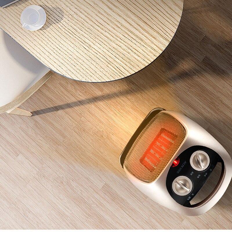 Calentador eléctrico de 220 V para el hogar, calentador portátil de interior, calentador de agua de oficina, calentador de aire para el invierno - 2