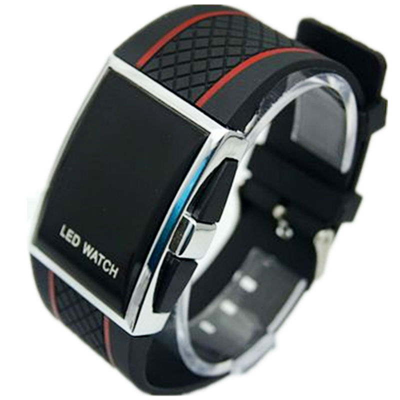 Fashion Tada Sports Brand Watch Herr Digital Rektangel Armband - Damklockor - Foto 2