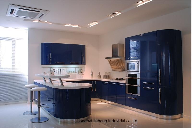 Глянцевый/лак кухонный шкаф mordern (LH LA046)