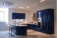 High gloss/lacquer kitchen cabinet mordern(LH LA046)
