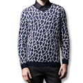 2016 New Men Outwear Sweaters and Pullovers Men's Casual Fashion Slim Fit Long Sleeved V Neck Sweaters Pullovers Clothing Hombre