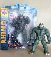 10 Marvel select RHINO Movable Spiderman villain 22cm