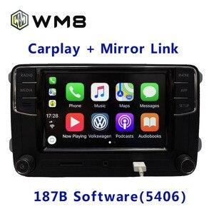 Радиоприемник Carplay RCD330, RCD330G Plus 6,5 MIB для VWGolf 5 6 jettacctiguanpassat, 187B, RCD510, RCN210, 5406, 5314, 0317