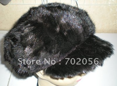 Fashion Mink Hats Women Cap mixed 5pcs/lot #2300 leather skullies cap hats 5pcs lot 2278
