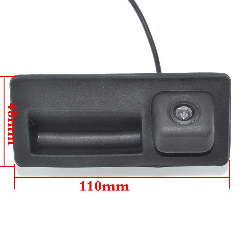 CCD HD impermeable coche Runk manejar aparcamiento retrovisor cámara de respaldo caso para Audi/VW/Passat/Tiguan/Golf/Touran/Jetta/Sharan/Touareg