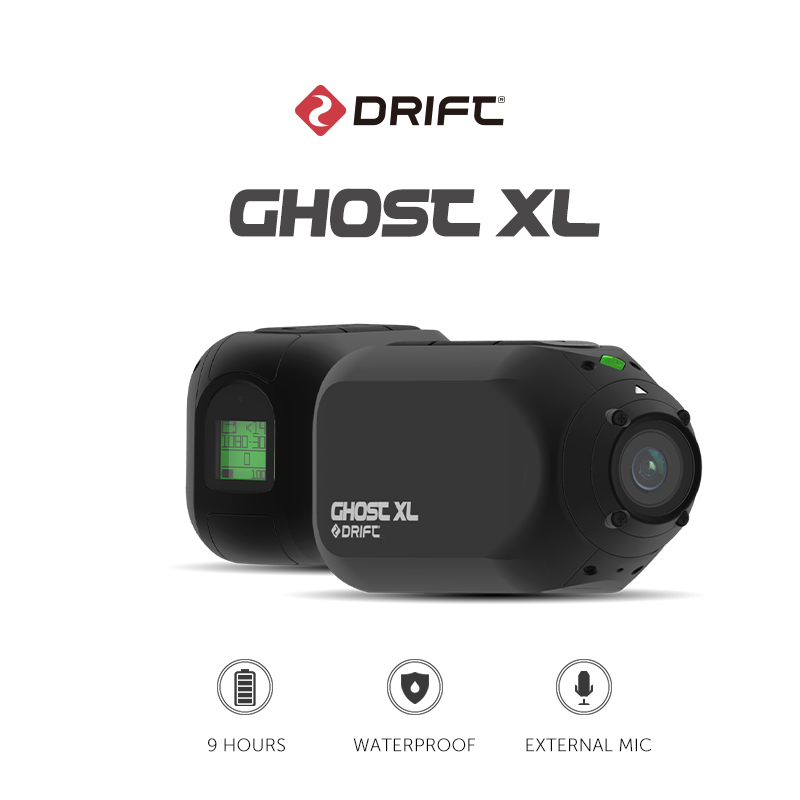 Neue Ankunft Drift Ghost XL Action Kamera Sport Kamera 1080P Motorrad Mountainbike Fahrrad Kamera Helm Cam mit WiFi