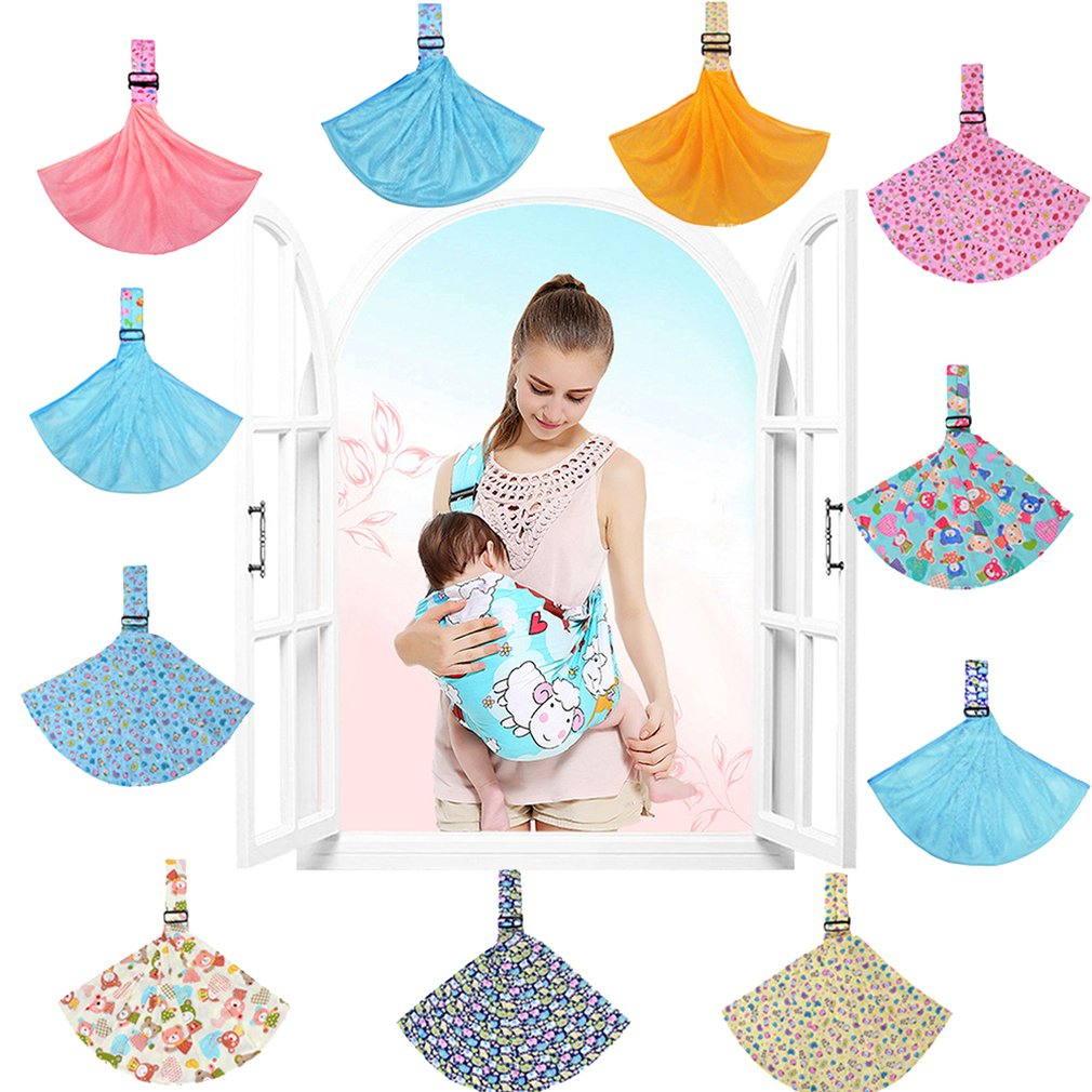 Fashion Multifunction Breathable Newborn Baby Carrier Sling Wrap Front Chest Belt Carrier Maternal & Infant Supplies