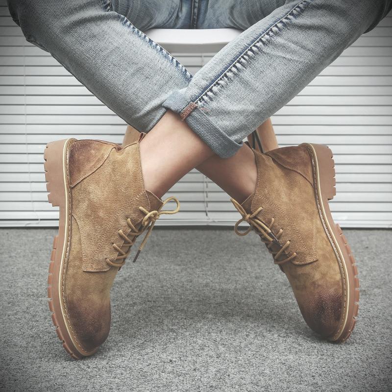 Segurança De Genuíno Couro Pop Livre Mxz8218116 oposição Botas Ao Ar Sapatos Yellow slip Vender Mens gary Inverno Não Desgaste 5WqvpI