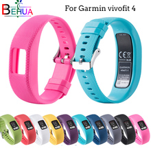 Silicone Sports strap For Garmin vivofit 4 Replacement L/S Size Comfortable Strap wristband Quality