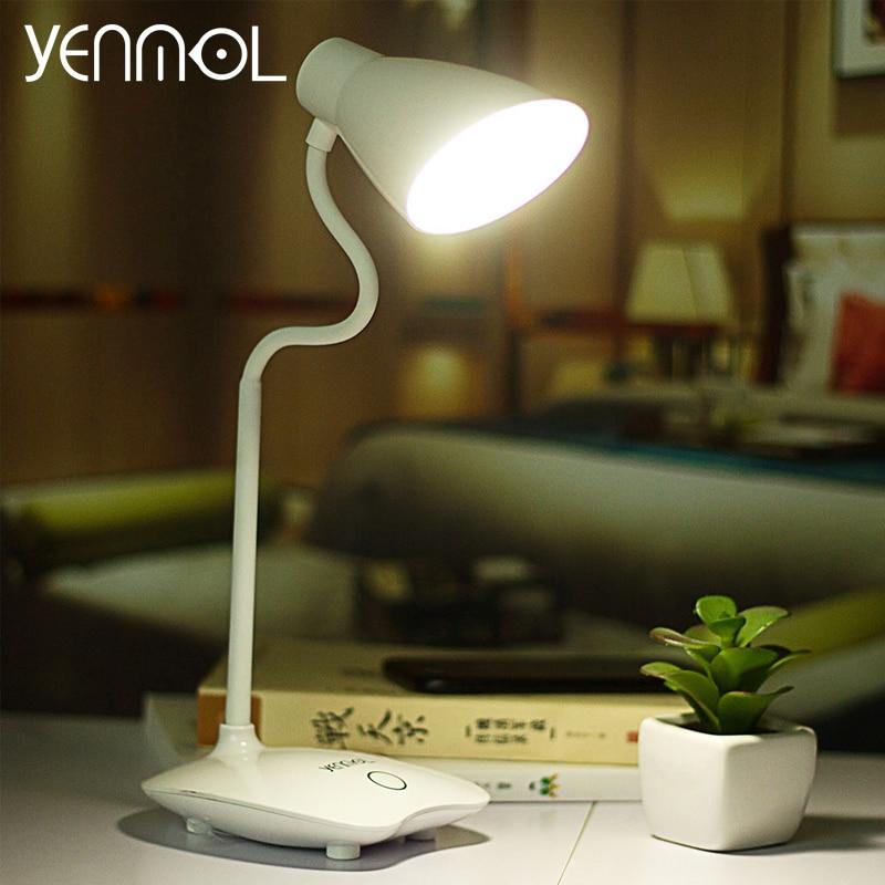 bedroom table lamps lighting. yenmol led light desk lamps touch switch usb led reading desktops lamp horseshoe design table for bedroom contemporary lighting s