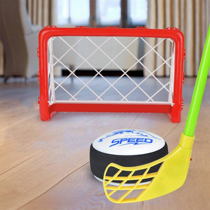 Mini objectif de Hockey en plastique bâton avec lumière et musique pour divertissement familial cadeaux de fête d'anniversaire sport jeu jouet - 2