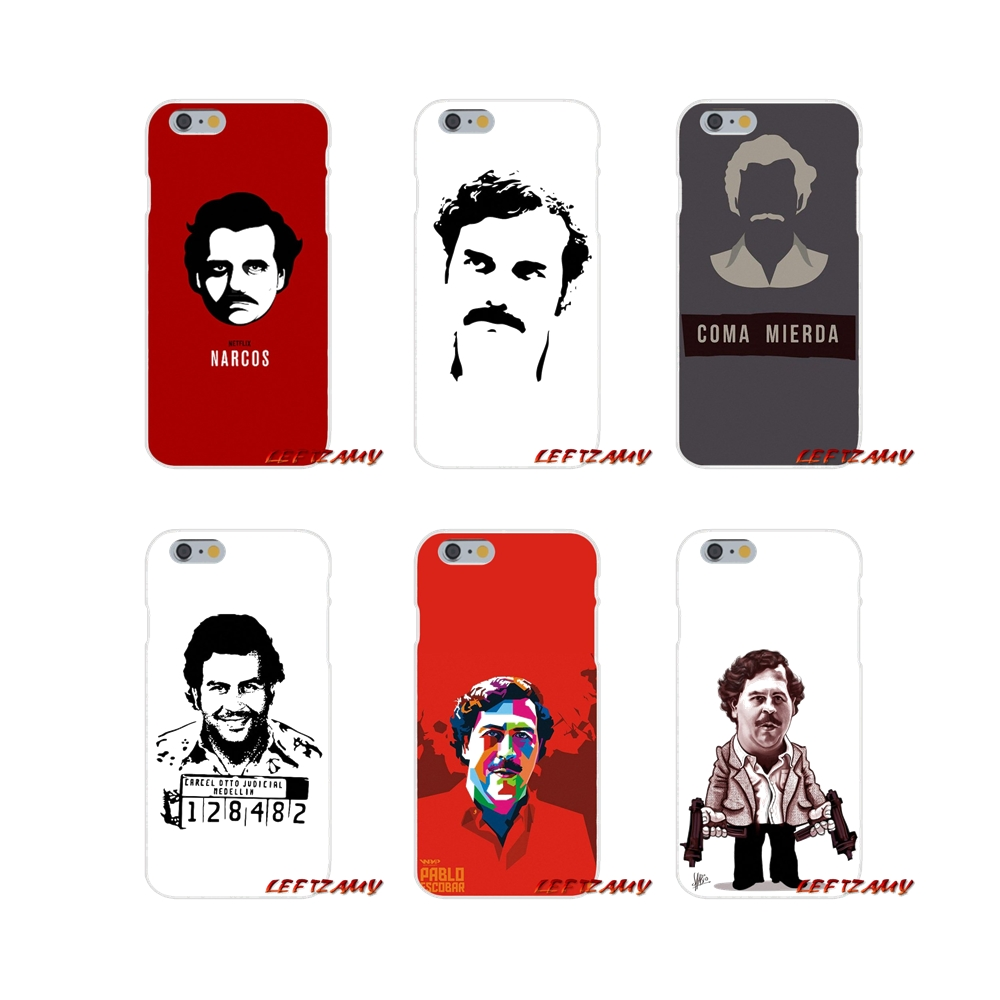 Phone-Cases-Covers Escobar-Accessories Xiaomi Mi6 Redmi Note-5 For 6-a1/Max/Mix/.. Pablo