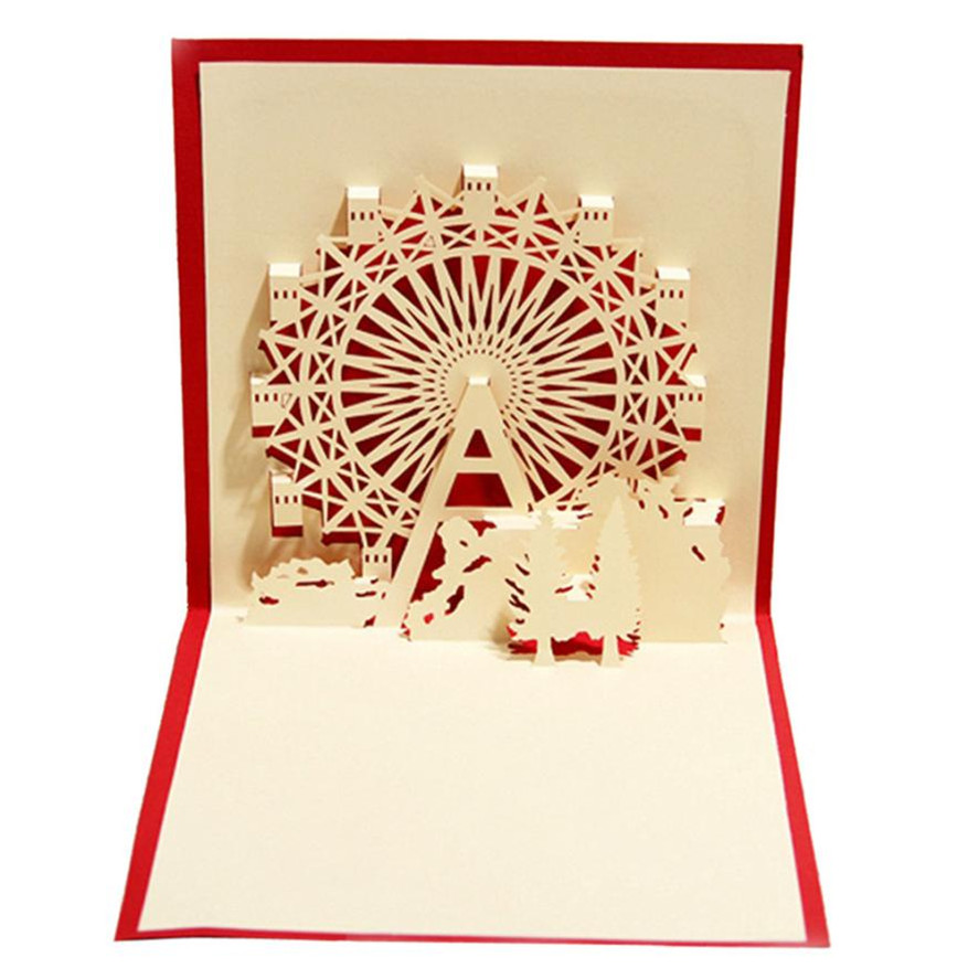 Gift Greeting Cards BIRTHDAY  ANNIVERSARY  WEDDING Up Cards 3D Cards New