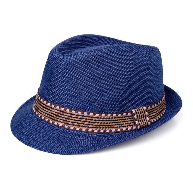 MOLIXINYU Summer Baby Hat Fashion Boys Cap Children Breathable Hat Straw Kids hat Boy Girls Hats Casual Beach jazz Caps For Boys