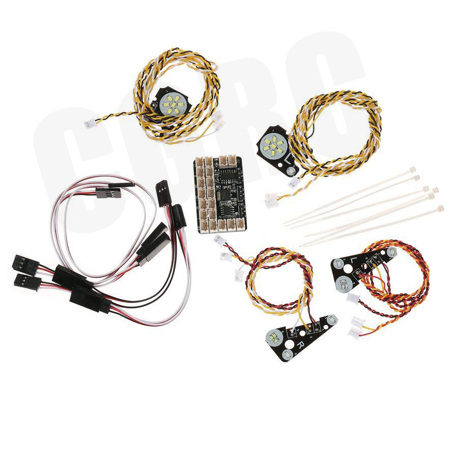 LED წინა / უკანა შუქები და IC - დისტანციური მართვის სათამაშოები - ფოტო 2