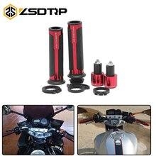 ZSDTRP 7/8 мм «22 мм ЧПУ алюминий Barracuda велосипед улица и Гонки Универсальный гоночный мотоцикл Ручка Руль управления для мотоциклов Moto рукоятка