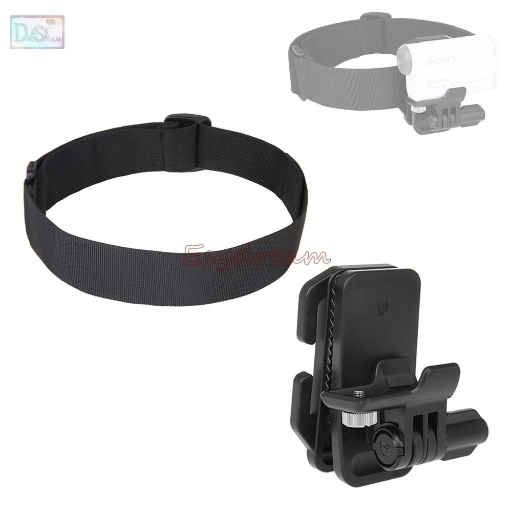 Kit De Accesorios Casco de Bicicleta para Selfie Trípode para cámara deportiva Sony Hdr AS200V AS100v