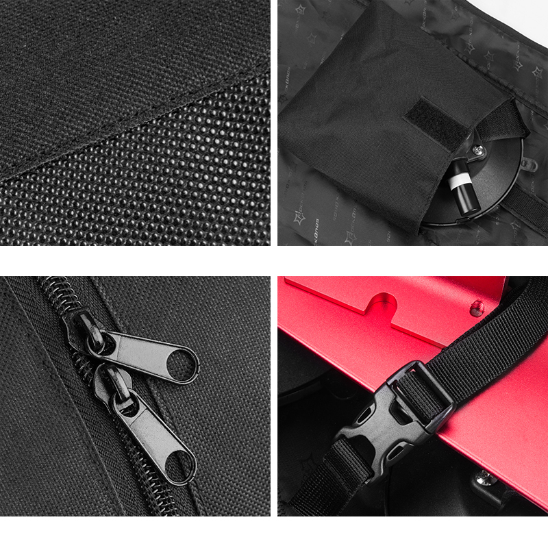 ROCKBROS Storage Bag For Bicycle Rack Suction 45L Large Capacity Cycling Waterproof Bag PVC Portable Black Bike Package in Bicycle Bags Panniers from Sports Entertainment