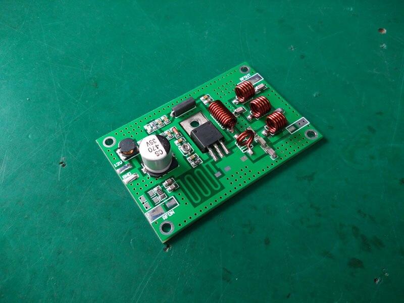 Высокочастотная Плата усилителя 12V 15W 70 120Mhz FM усилитель плата передатчика FM передатчик плата 15W передатчик Модуль