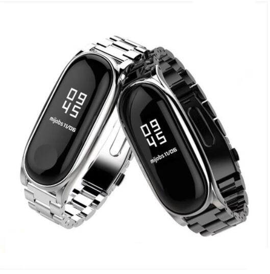 YIFALIAN Strap for Xiaomi Mi Band 3 2 Screwless Bracelet for MiBand 3 2 Band Replace  For Mi Band 2 3 metal bandsYIFALIAN Strap for Xiaomi Mi Band 3 2 Screwless Bracelet for MiBand 3 2 Band Replace  For Mi Band 2 3 metal bands