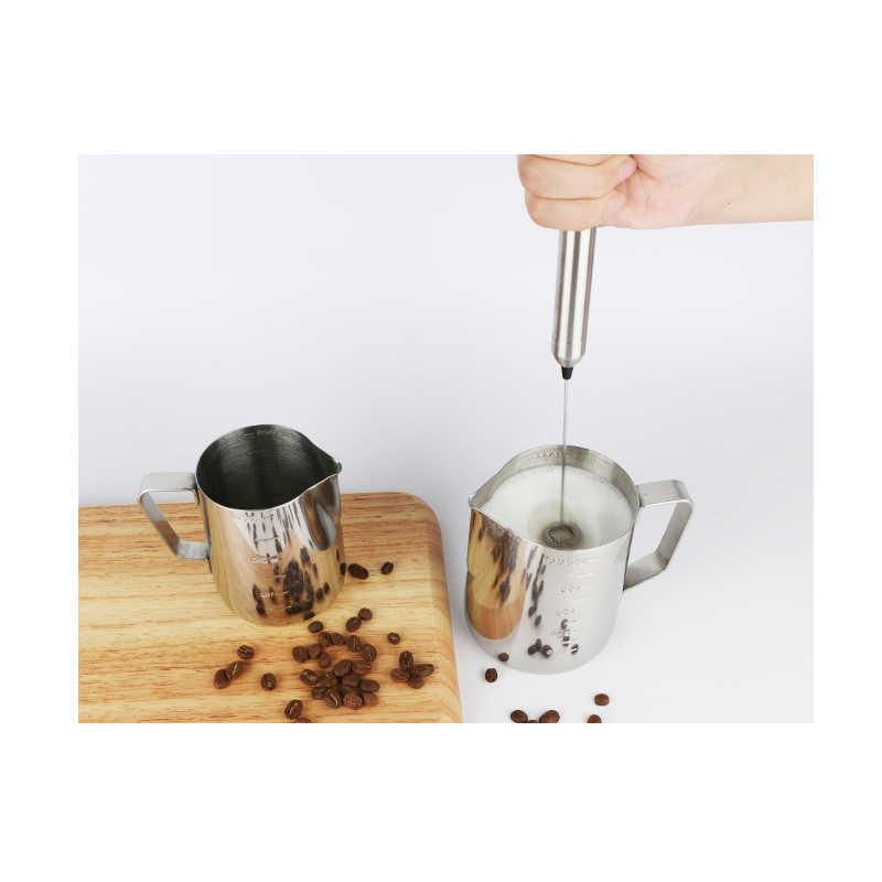 Kbxstart נייד מיני כף יד בלנדר חשמלי מיקסר חלב מקציף עבור קפוצ 'ינו קפה לאטה Foamer יצרנית אספקת מטבח