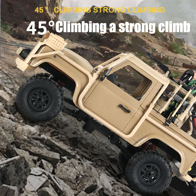 1/12 2.4G 4WD RC Car Vehicle Toy with LED Light Climbing Off-Road Truck Outdoor Toys Boy Gifts S7JN1/12 2.4G 4WD RC Car Vehicle Toy with LED Light Climbing Off-Road Truck Outdoor Toys Boy Gifts S7JN
