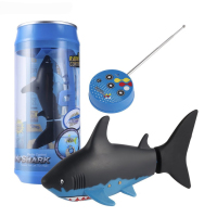 Kids Mini RC Submarine 4 CH Remote Small Sharks With USB Remote Control Toy Fish Boat Best Christmas Gift for Boy Children