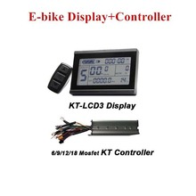Electric-Bicycle-Controller E-Bike-Display KT-LCD3 Conversion-Parts And
