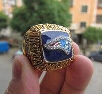 Free Shipping 2014 New England Patriots SUPER BOWL World Championship Champions Ring High Quality Christmas Day