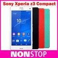 """Оригинальный SONY Xperia Z3 Compact D5803 Разблокирована Quad core 4.6 """"2 ГБ RAM 16 ГБ ROM Android Мобильные телефоны Восстановленное SONY Z3 Mini"""