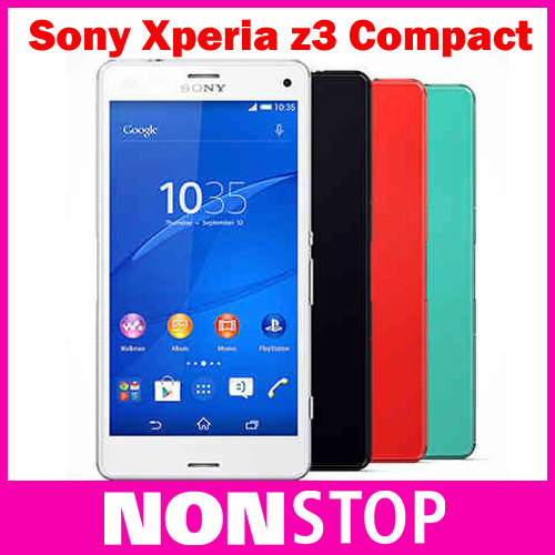 """Original SONY Xperia Z3 Compact D5803 Unlocked Quad core 4.6"""" 2GB RAM 16GB ROM Android Mobile phones Refurbished SONY Z3 Mini"""