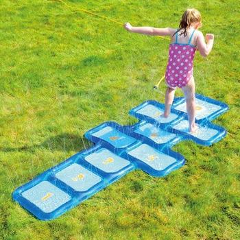 0597247f7 220 cm gigante de rociadores de agua Mat inflable juego Pad para niños bebé  césped al aire libre juguetes de los niños de verano piscina del patio  juegos