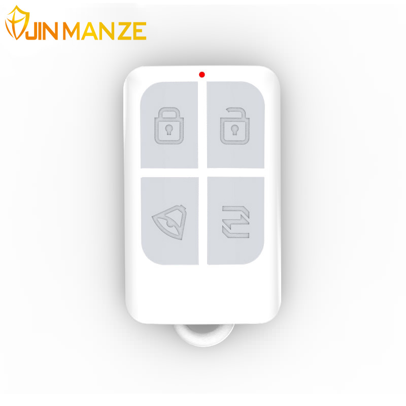 New Free shipping Wireless High-grade Remote Control 433 MHz Key Telecontrol for PSTN or GSM Burglar Security Home Alarm System new wireless high performance portable remote control 4 buttons for kerui g18 g19 w1 w2 k7 home alarm system
