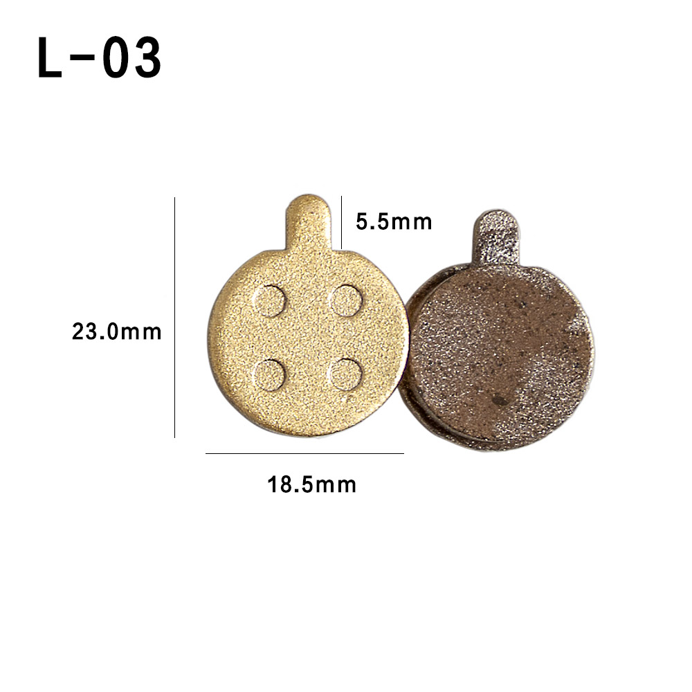 Full Metal Keto Material Brake Pad pads for Electric Scooter Brake Pad for Speedway 3 Electric Scooter