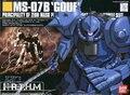 Bandai HGUC 09 MS-07B Gouf Assembled model Gundam model kit Scale Model