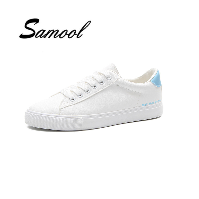 Women Casual Shoes Platform Fashion Spring Autumn Vulcanized Breathable flats shoes Student School White Comfortable shoes ly5 free shipping 2017summer autumn new fashion women shoes casual flats solid breathable simple women casual white shoes sneakers