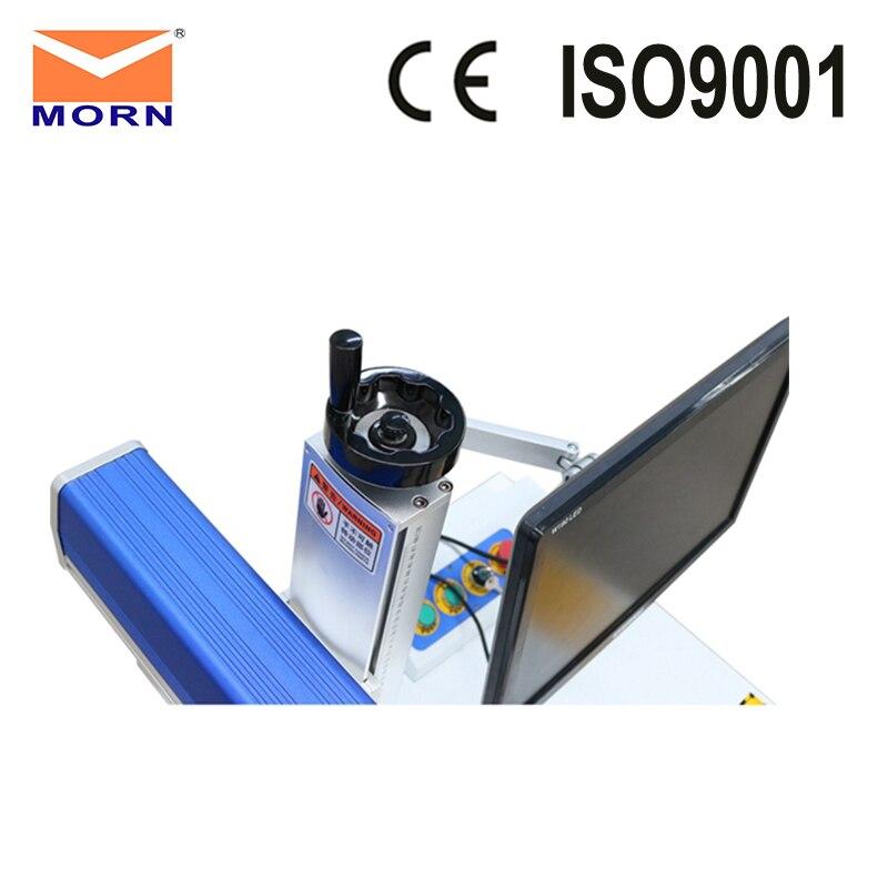20W best quality fiber desktop laser marking metal used 2D worktable engraving in Wood Routers from Tools