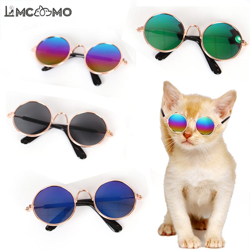 Fashion Pet Cat Glasses Cat Accessories Dog Pet Sunglasses Photos Props Accessories For Little Dog Cat Eye-wear Pet Products New