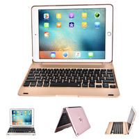 Folding Laptop Design Wireless Bluetooth Keyboard Foldable Stand Case For IPad Pro 9 7 Inch IPad