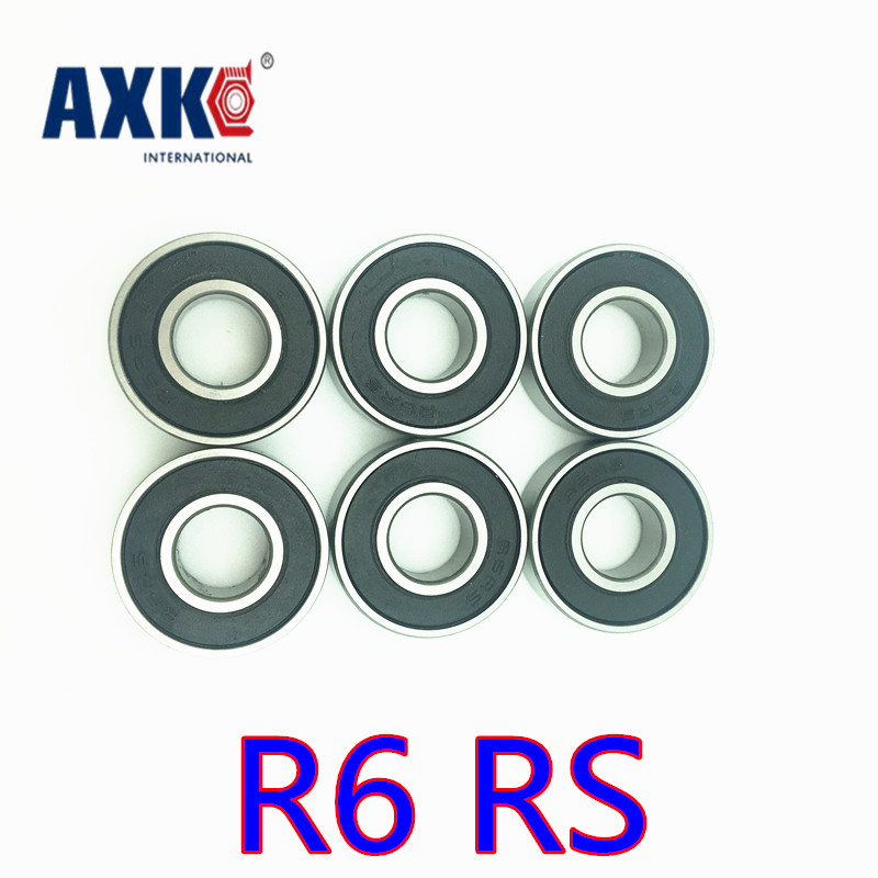 US $9 14 8% OFF|2019 Rolamentos Free Shipping 10 Pcs R6 2rs R6rs Sr6 2rs  Bearings 3/8 X 7/8 9/32 Inch Radial Ball R6 Rs 9 525*22 225*7 144mm-in  Shafts