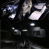 Canbus Error Free For Volkswagen VW GOLF 6 MK6 GTI LED Interior Light Kit Package 2010 Car Stying 8Pcs