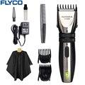 Flyco Профессиональный Электрический Машинка для Стрижки Волос для взрослых детские Аккумуляторные Триммеры Машинки Для стрижки Бороды бритвы FC5808