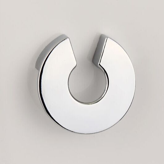 32mm shiny silver Dresser Knob Pull Drawer Pull Handle chrome Kitchen Cabinet Knob Handle Pull furniture