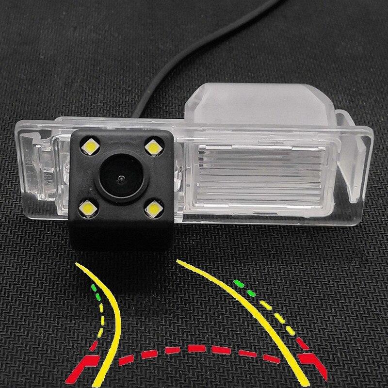 170D Intelligent Dynamic Trajectory Tracks Car Rear View Parking Backup Camera For Chevrolet Lova RV Trax Aveo Malibu Cruze