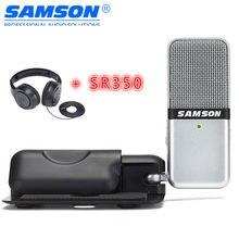 Samson Go-micrófono de condensador USB portátil para Mac, PC, ordenador, grabación de música por voz, transmisión de Podcasting, chat VoIP