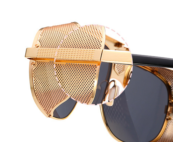Side Mesh Sunglasses   (6) colors