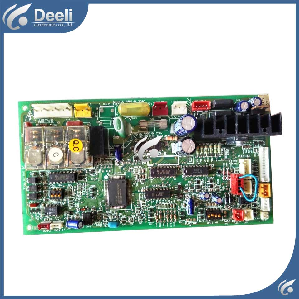good working for air conditioning computer board BB00N243B BB76N244G03 used control board air conditioning computer board juk7 820 197 ver1 0 12 25 2002 used disassemble